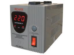 Стабилизатор напряжения однофазный Ресанта АСН-500/1-Ц Релейный (Resanta)