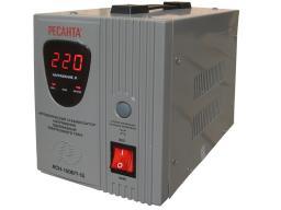 Стабилизатор напряжения однофазный релейный Ресанта АСН-1500/1-Ц (Resanta)