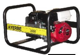 бензиновая электростанция AYERBE AY 3000 H