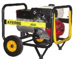 бензиновая электростанция AYERBE AY 5000 H A/E
