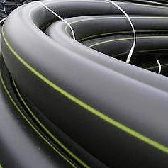 Труба ПЭ 100 ГАЗ SDR 13,6 - 110x8,1 ГОСТ Р 50838-2009