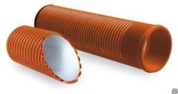 Труба гофрированная канализационная SN8 Ду 250 ПРАГМА (Pragma)