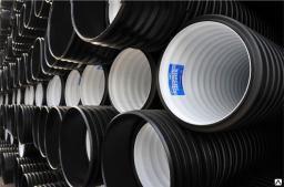 Труба гофрированная для канализации КОРСИС SN16 Ду 400