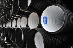 Труба гофрированная для канализации КОРСИС SN6 110 мм
