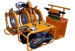 Сварочный агрегат для стыковой сварки ПЭ труб КНР