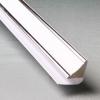 Молдинг ПВХ потолочный Silver Line для панелей 8-10 мм