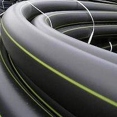 Труба ПЭ 100 ГАЗ SDR 13,6 - 75x5,6 ГОСТ Р 50838-2009