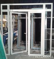 Двери из алюминия от производителя