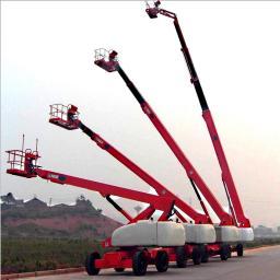 40 м Телескопический подъемник\40 m telescopic boom lift