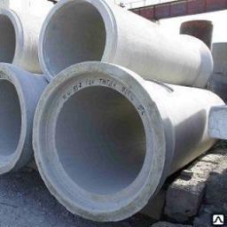 Трубы железобетонные водопропускные раструбные 1600 мм