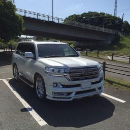 Обвес wald для Toyota Land Cruiser 200 2016 г