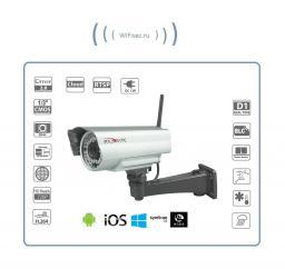 Уличная WiFi-LAN телекамера HD 960Р Артикул: PN26-M13-B36IRAW-IP