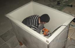 Футеровка гальванических ванн