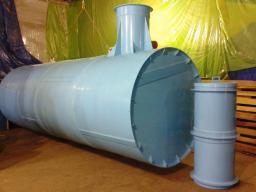 Септики, очистное сооружение, емкость для канализации