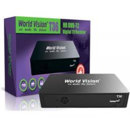 Эфирный ресивер World Vision T36