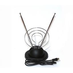 Комнатная антенна МВ+ДМВ(усы с кольцом)