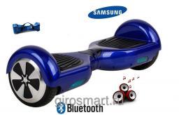 Гироскутер Smart. 1поколение. Синий. Bluetooth.  C APP
