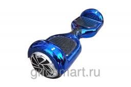 Гироскутер  Smart. 1 поколение. Синий  хром. Bluetooth. С APP
