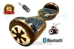 Гироскутер Robot Wheel. Шоколад. С верхней подсветкой. Bluetooth
