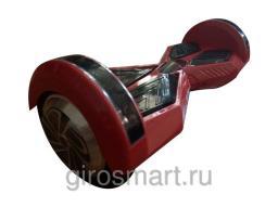 Гироскутер  Smart . 4 поколение. Ламбо. Верхняя led- подсветка. Bluetooth. Красный карбон
