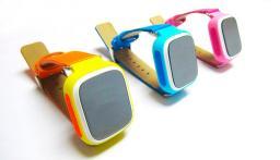 Умные детские часы с GPS Q60S Smart Baby Watch Розовый