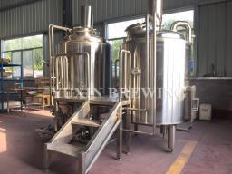 1000L под ключ пивоваренный завод