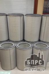 Фильтрующие картриджи, фильтры для пылеуловителей дробеметной камеры Cogeim Europe S.r.I. Пылеулавители FC, PG 8x12/2