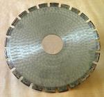 Алмазный круг отрезной сегментный ГОСТ 16115-88 1500 х 120 х 10,0 мм