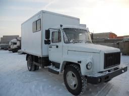 Автомастерские ГАЗ 3309 ГАЗон