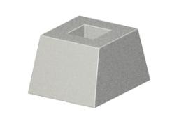 Фундамент ограды фо-2 (стакан фо-2)