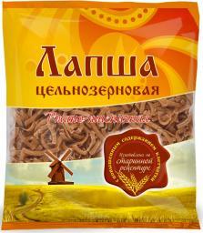 Лапша цельнозерновая ржано-пшеничная