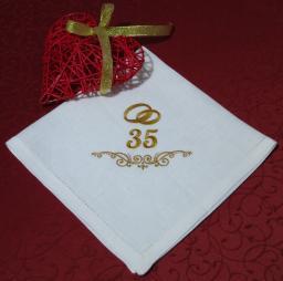 Эксклюзивные подарки. Столовый текстиль с машинной вышивкой