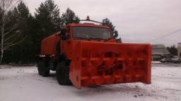 Снегоочиститель шнекороторный КамАЗ