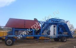 Бетонный завод мобильный 40 куб/час