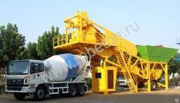 Мобильный бетонный завод YHZS - 50, транспортируемые