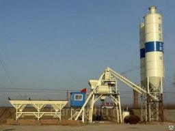 Бетонный завод стационарный HZS40 в наличии
