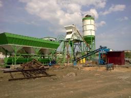 Бетонный завод стационарный GiStat 25 в наличии