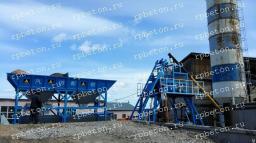 Бетонный завод HZS 40A