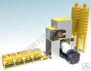 Стационарные контейнерные бетонные заводы (БРУ) 120 куб/час