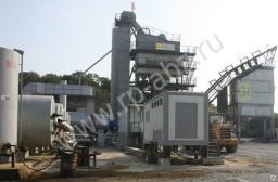 Стационарный асфальтобетонный завод серии LBG 1500