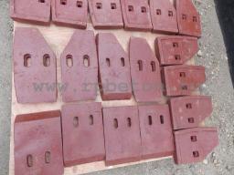 Лопатки бетоносмесителя JS