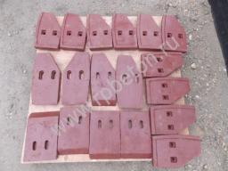 Лопасти бетоносмесителя