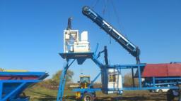Продается мобильный бетонный завод YHZS 50
