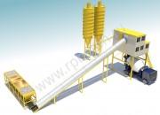 Ленточный бетонный завод HZS 90
