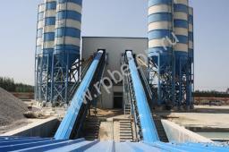 Ленточный бетонный завод HZS 120