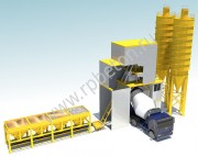 Контейнерный бетонный завод HZS 120D