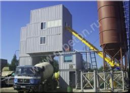 Контейнерный бетонный завод HZS 180D