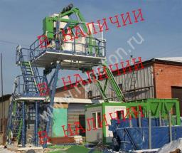 Перевозимый мобильный бетонный завод МВТ-08