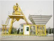 Перевозимый мобильный бетонный завод МВТ-10