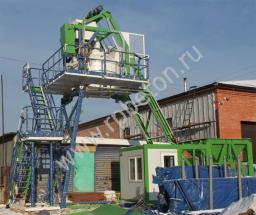 Перевозимый мобильный бетонный завод МВТ-15